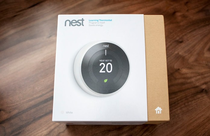 Nest Smart Thermostat Box