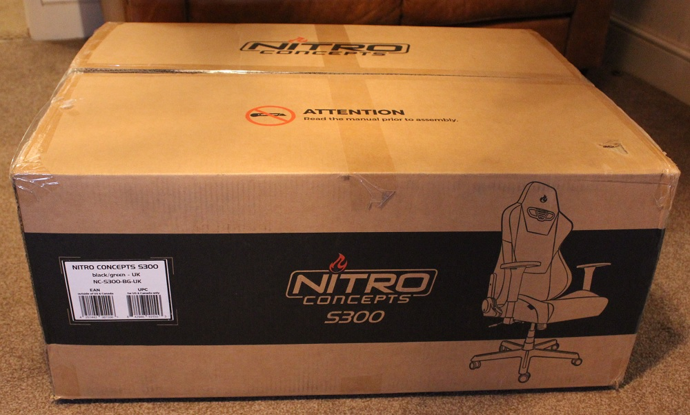 Phenomenal Nitro Concepts S300 Gaming Chair Review Play3R Ibusinesslaw Wood Chair Design Ideas Ibusinesslaworg