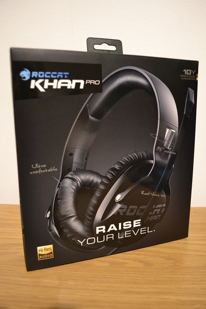 b16cc1ab3af ... Roccat Khan Pro fits that statement perfectly! Sometimes you can even  forget you got it on it's that light so enough of me babbling let's get  down to ...