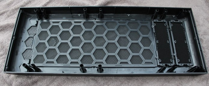 thermaltake core 71 front panel removed