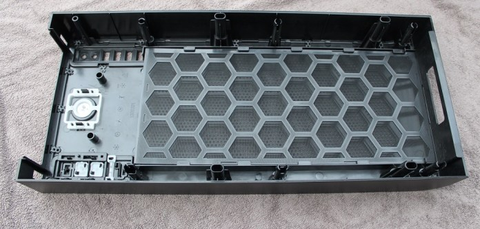 thermaltake core 71 top panel removed