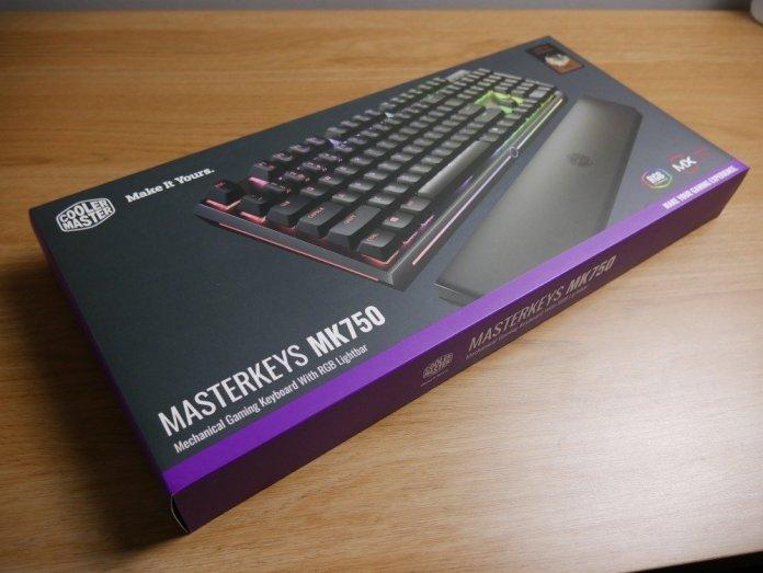 Masterkeys MK750 Box Front