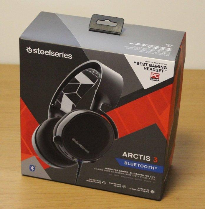 Steelseries Arctis 3 BT Box Front