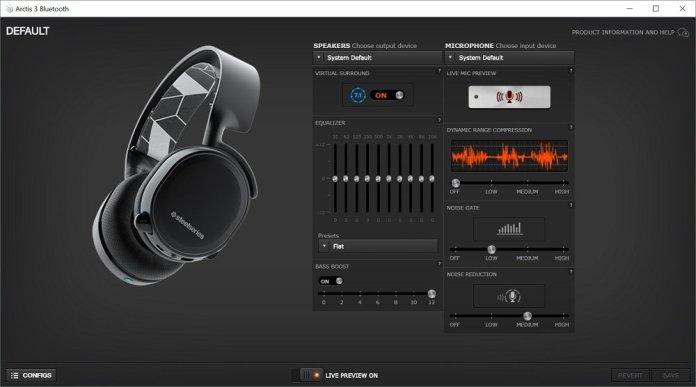 steelseries arctis 3 software