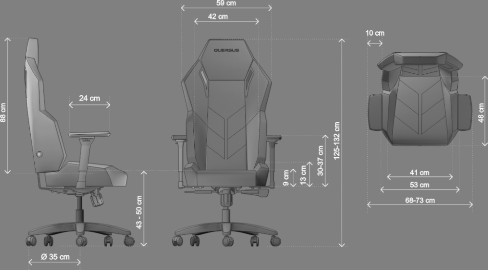 Pleasant Quersus Vaos 501 Gaming Chair Review Machost Co Dining Chair Design Ideas Machostcouk