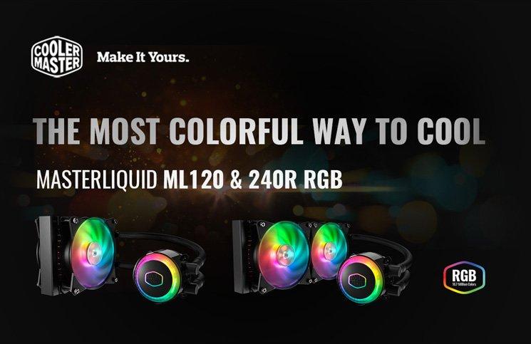 Cooler Master Announces MasterLiquid ML240R RGB and ML120R