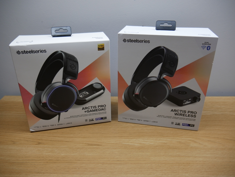 SteelSeries Arctis Pro +GameDAC & Pro Wireless Headset Review