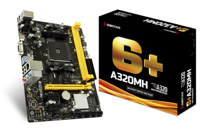 BIOSTAR Introduces A320MH M-ATX Motherboard