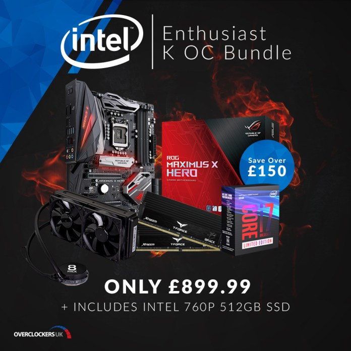 OCUK Enthusiast K OC Bundle