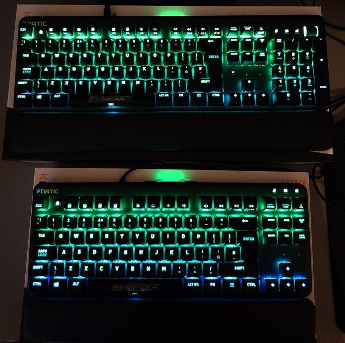 Fnatic Streak and miniStreak RGB Mechanical Keyboard (8)