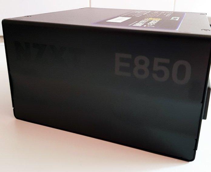 NZXT E850 850W Power Supply Side 1