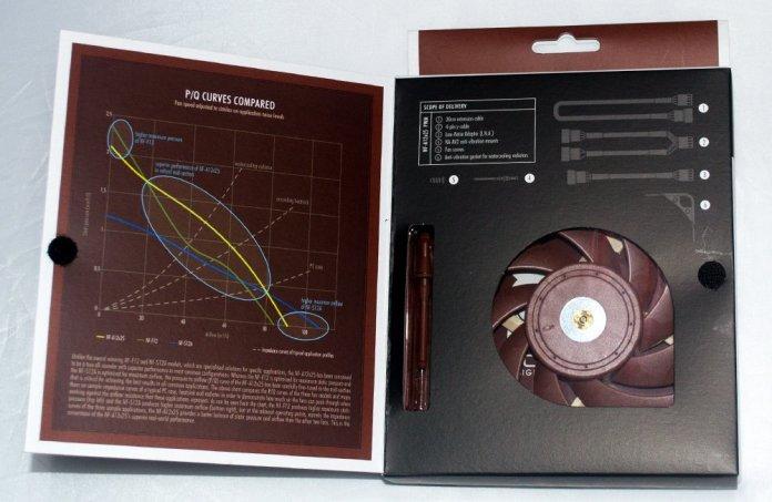 Noctua NF-A12x25 Box Open Flap