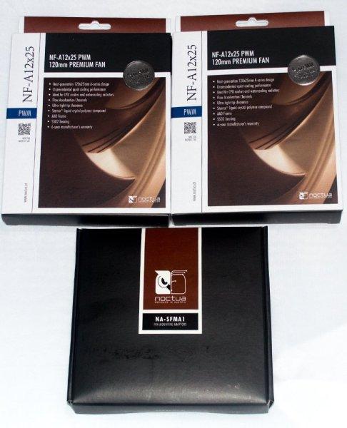 Noctua NF-A12x25 NA-SFMA1 Box Front