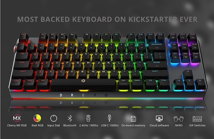3660f258104 Drevo Blademaster TE Mechanical Keyboard Review | Play3r
