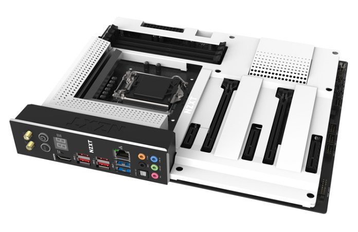 NZXT N7 Z390 White flat Feature