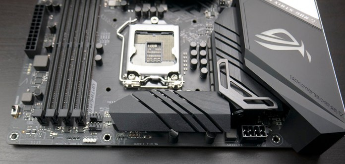 ASUS ROG STRIX Z390-E Gaming Motherboard Power