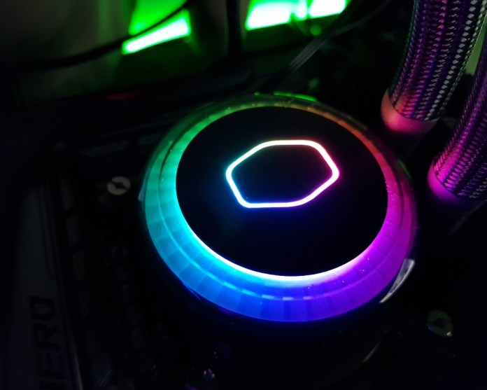 CM ML120R RGB Pump Block LEDs 2