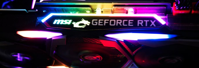 MSI RTX 2080 Gaming X Trio Graphics Card RGB Lighting