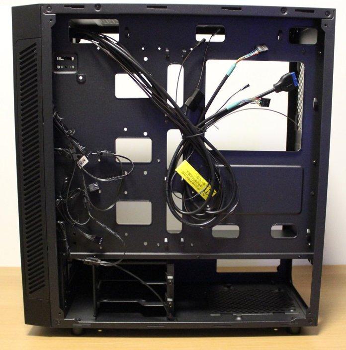 Deepcool Matrexx 55 Add RGB cabling side