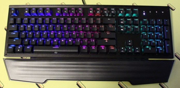 drevo durendal keyboard powered on