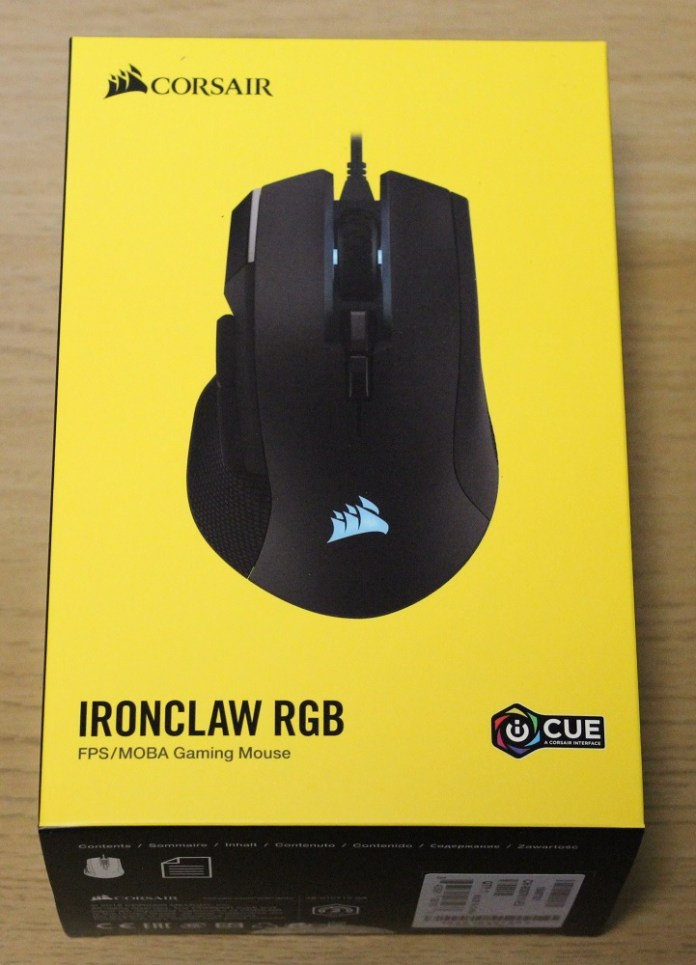 Corsair Ironclaw RGB Box Top