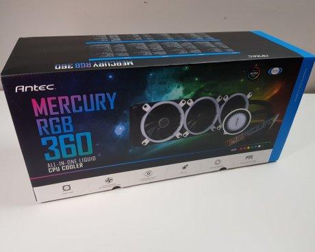 Best 360mm AIO CPU coolers 2019: Antec Mercury RGB 360 Box