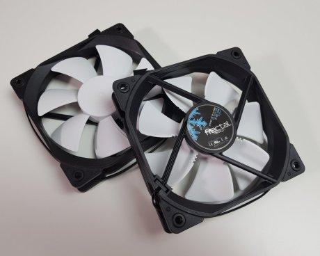 Best 360mm AIO CPU coolers 2019: Fractal Celsius s36 fans