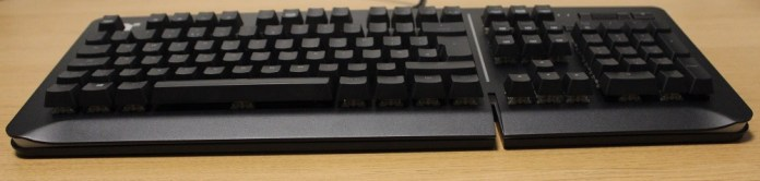 TT Level 20 Mechanical Keyboard front profile