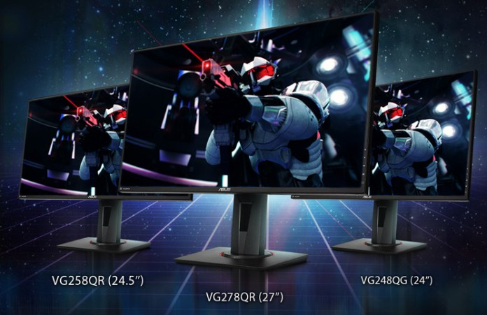 ASUS Announces Three New NVIDIA G-SYNC Compatible Gaming Monitors Feature
