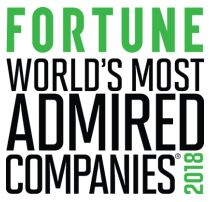 ASUS Fortune Most Admired