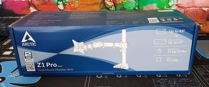 Arctic Z1 Pro Gen3 Single Monitor Arm 1