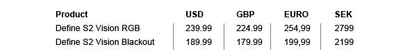Fractal Design Define S2 Pricing