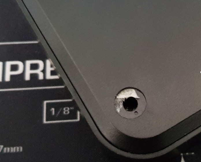 Screw Hole