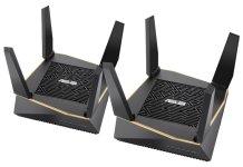 ASUS AiMeshAX6100 WiFi hub pair