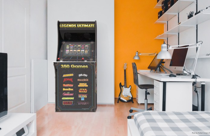 AtGames Lifestyle Cabinet-Work Studio Feature