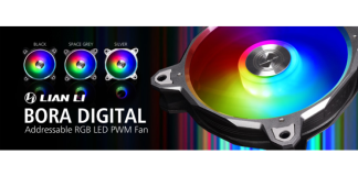 Lian Li Bora Digital RGB Fan
