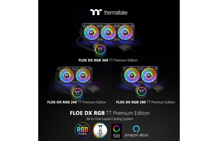 Thermaltake Floe DX RGB Series TT Premium Edition Feature