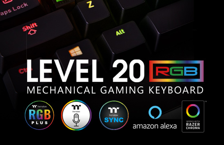 Thermaltake Gaming Hits the Market with Level 20 RGB Razer™ Green
