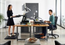 Varidesk ProPlus 36 Black Feature