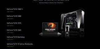 Shadow of the Tomb Raider Free GTX 10 Series