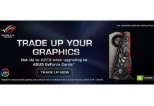 ASUS Trade Up Your Graphics Feature