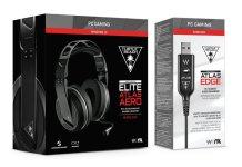Turtle Beach Elite Atlas Aero Wireless Headset + Atlas Edge Audio Enhancer
