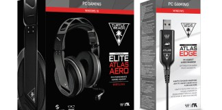 Turtle Beach Elite Atlas Aero Wireless Headset + Atlas Edge Audio Enhancer