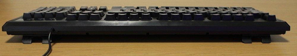 tt challenger keyboard rear stance