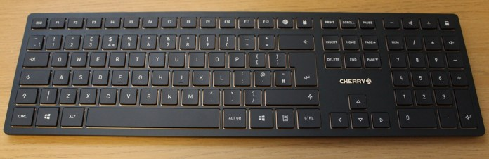 Cherry DW9000 Slim keyboard top