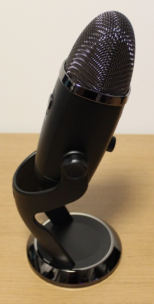 Blue Yeti X Box microphone right