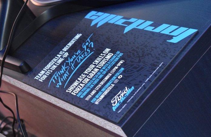 Team Fordzilla Recruitment Event Poster Feature