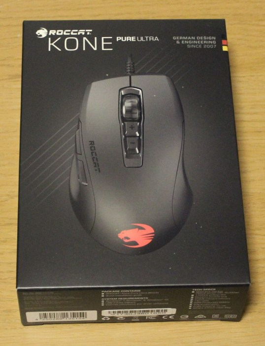 Roccat Kone Pure Ultra Box Top