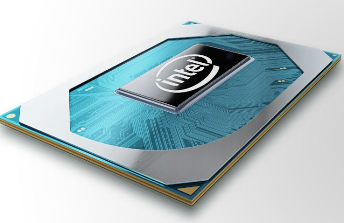 A reender of an Intel Comet Lake-H Laptop Processor