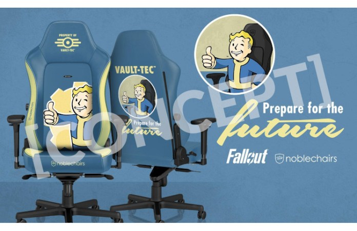 Noblechairs Partner With Bethesda, Starting With Fallout Chair